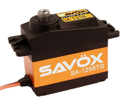Savox SA-1258TG Super Speed Titanium Gear Digital Servo