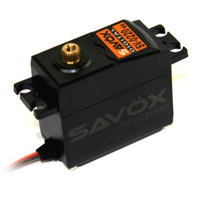 Savox High Voltage Standard Digital Servo 0.13/111.1 @7.4
