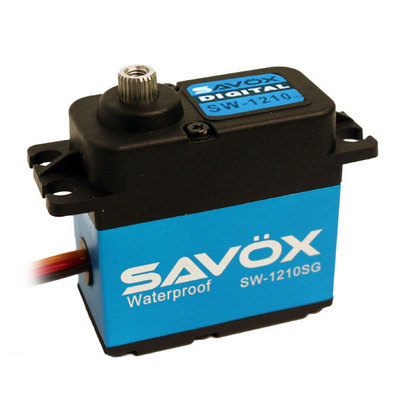 Savox Waterproof High Voltage Digital Servo .13 Seconds/319.40 Oz-In T