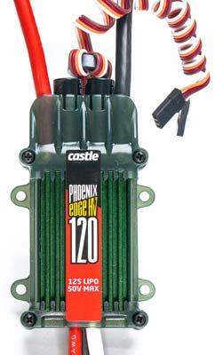 Castle Creations PHX Edge 120 HV 50V 120 Amp ESC