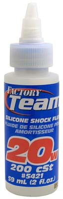 Associated Silicone Shock Fluid 20 Weight 2 oz
