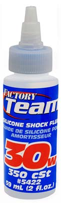 Associated Silicone Shock Fluid 30 Weight 2 oz
