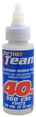 Associated Silicone Shock Fluid 40 Weight 2 oz