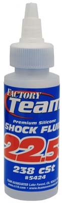 Associated Silicone Shock Fluid 22.5wt 2 oz