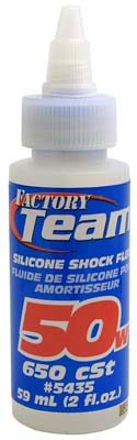 Associated Silicone Shock Fluid 50 Weight 2 oz