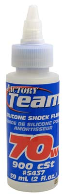 Associated Silicone Shock Fluid 70 Weight 2 oz