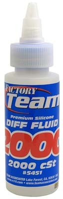 Associated Silicone Diff Fluid 2000cst